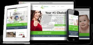 Queen Consulting & Technologies Websites - LA Organic