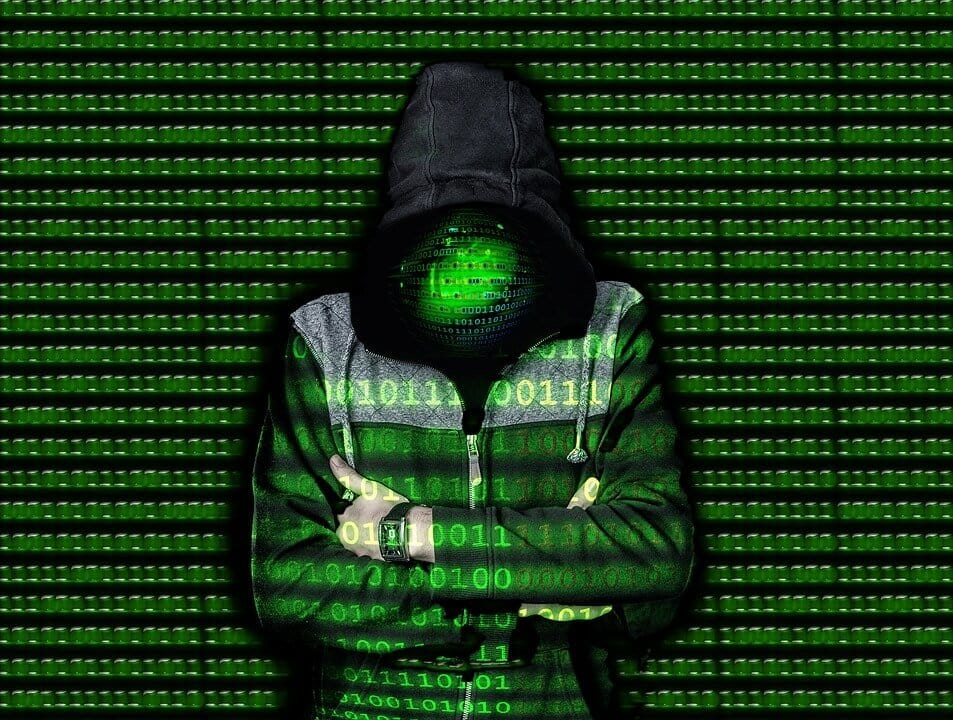 Hooded Figure Hacker