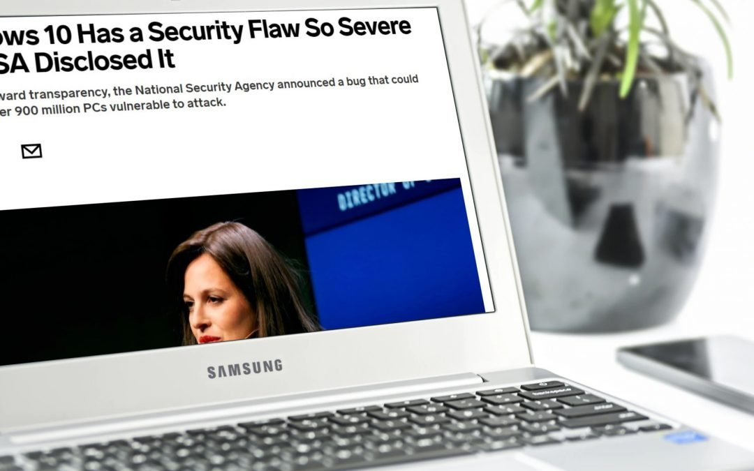 NSA Warns About Severe Bug in Windows 10: 900 Million PCs May Be Vulnerable